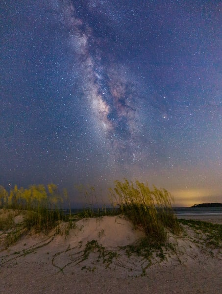 Tybee Milky Way Panorama