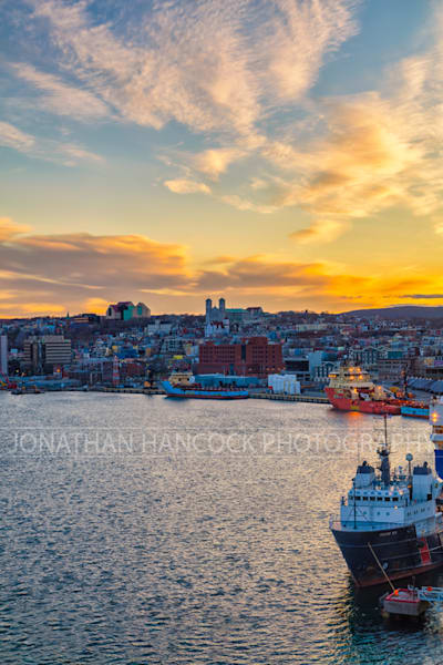 Newfoundland Photogrpahy - St. John's - A Calm City