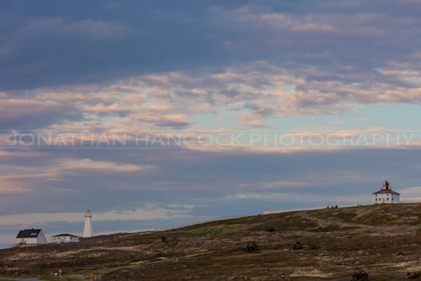 Newfoundland Art - Cape Spear Lighthouse Setting