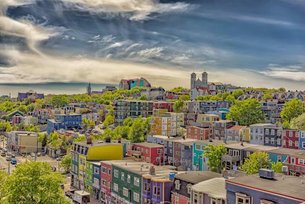 Newfoundland Photogrpahy - St. John's - Rooftop Fun