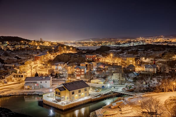 Newfoundland Photogrpahy - Quidi Vidi Night