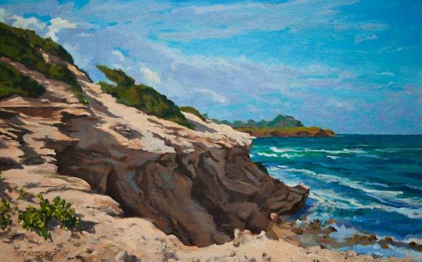 Maha-ulepu Cliff Walk on Kawailoa Bay