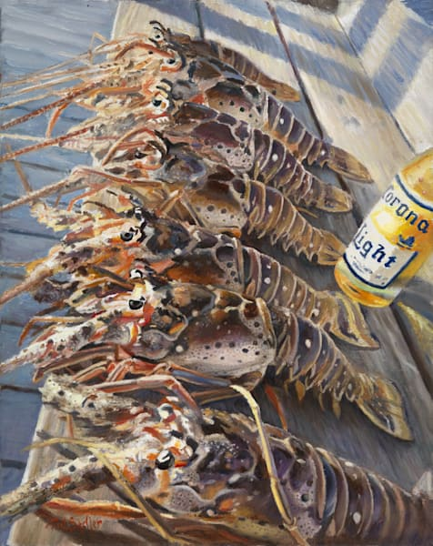 Lobster Anyone? Art | Sally C. Evans Fine Art