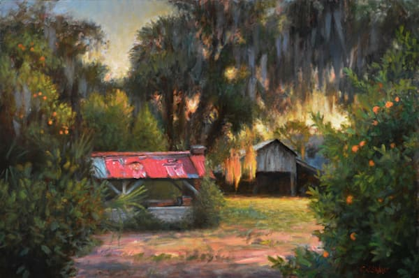 The Old Grove Art | Sally C. Evans Fine Art