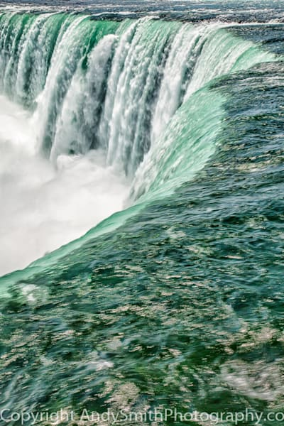 Rushing Waater of Niagara Falls  fine art photograph