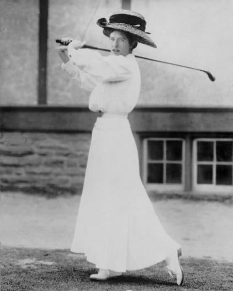 Miss Katherine Harley, Golfer