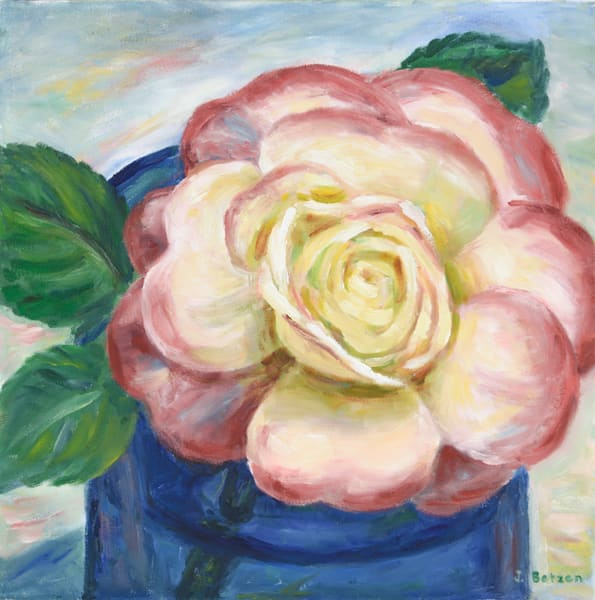 Full Bloom Rose by Julie Betzen Tilton