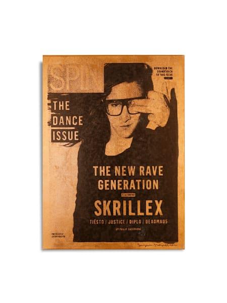Skrillex SPIN Magazine Cover