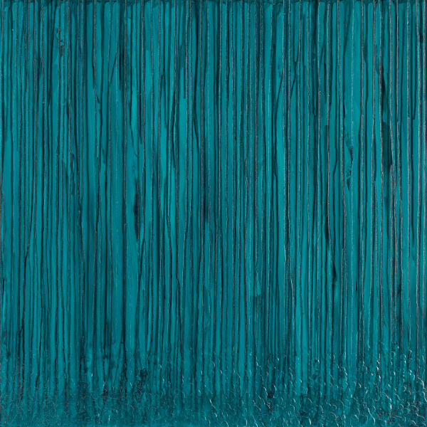 Teal Meditations Art | Mark Vantress Studios