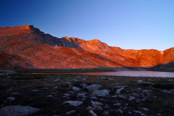 Mount Evans at Sunrise