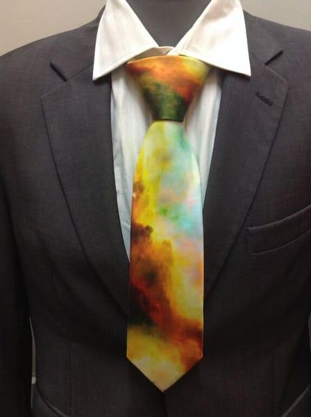 """Your Glory Tour"" 100% Silk Men's Tie by Cydney Mariel Galbraith  |  Prophetics Gallery"