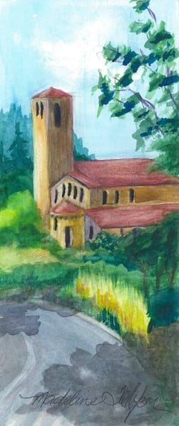 Church Tower by Madeline Tollefson