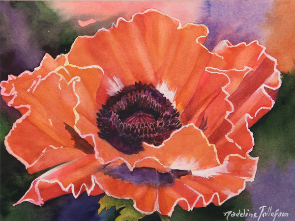 Eye Popping Poppy by Madeline Tollefson
