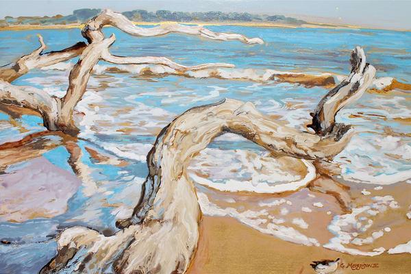 Against the Tide | Contemporary Landscapes | Gordon Meggison IV