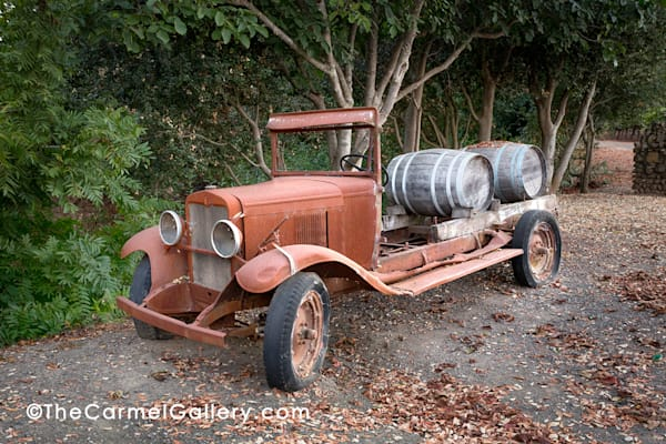 Wine Delivery 1930's Art | The Carmel Gallery