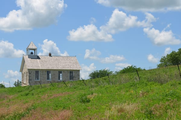 Old School House on the Prairie