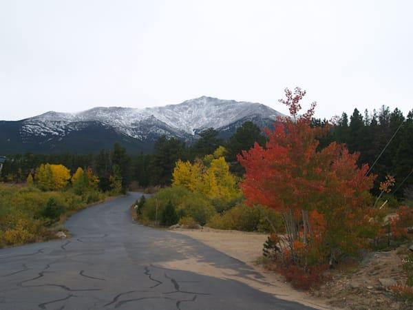 The Road Behind St. Milo--near Allenspark, Colorado