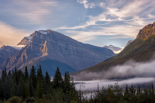 Banff Morning Light