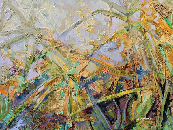 Tropical Jazz | Abstract Acrylic Mixed Media | Gordon Meggison IV