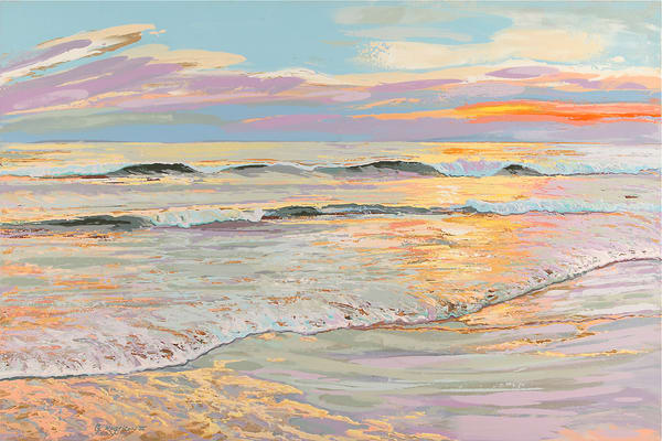 Iridescent First Light | Contemporary Landscapes | Gordon Meggison IV