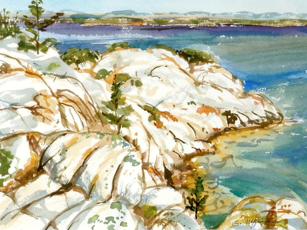 Hole in the Wall   Watercolor Landscapes   Gordon Meggison IV