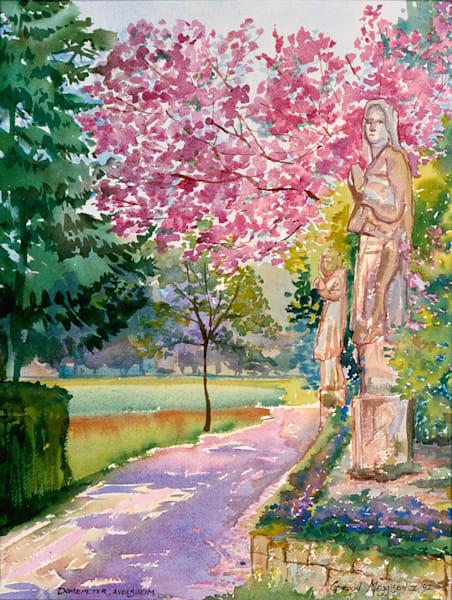 Domepeter Alsace, France   Watercolor Landscapes   Gordon Meggison IV