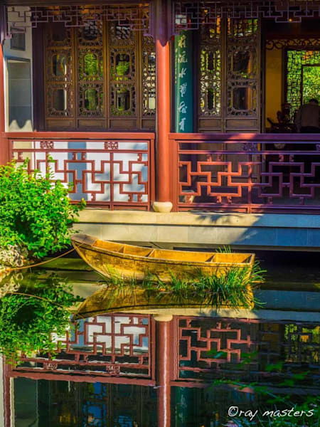 Chinese Garden Reflections Art | Ray Masters Productions