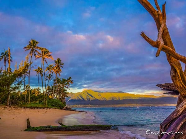Morning Maui Mountains Art | Ray Masters Productions