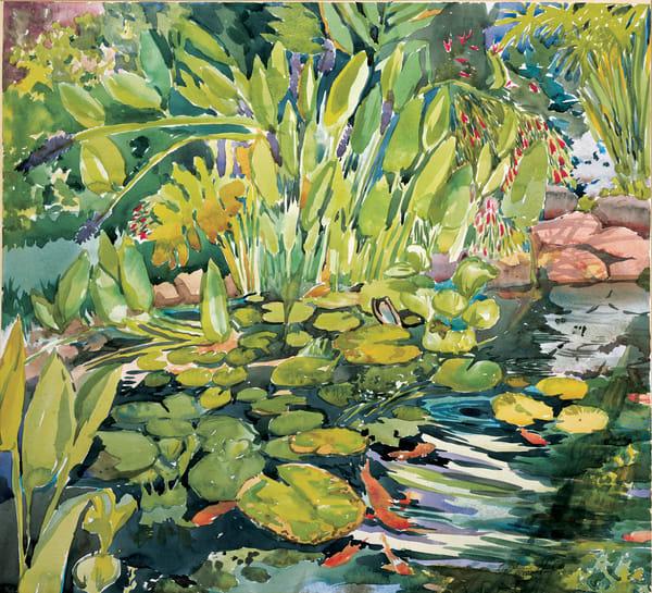 Lily Pond | Zen Landscapes | Gordon Meggison IV