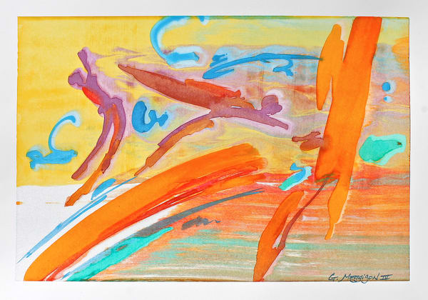First Flight | Abstract Watercolors | Gordon Meggison IV