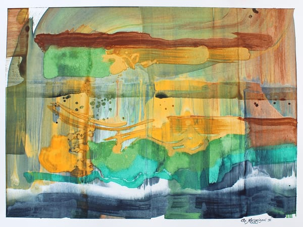 Inside Color | Contemporary Abstract Watercolors | Gordon Meggison IV