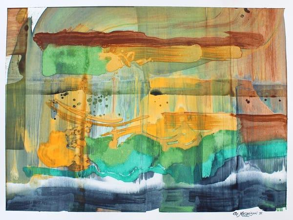 Inside Color   Contemporary Abstract Watercolors   Gordon Meggison IV