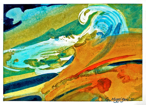 Momentum | Abstract Watercolors | Gordon Meggison IV