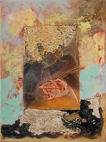 Breaking Away | Abstract Acrylic Mixed Media | Gordon Meggison IV