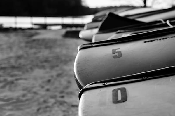 Beached Canoes Abstract Photography by Landscape and Nature Photographer Melissa Fague