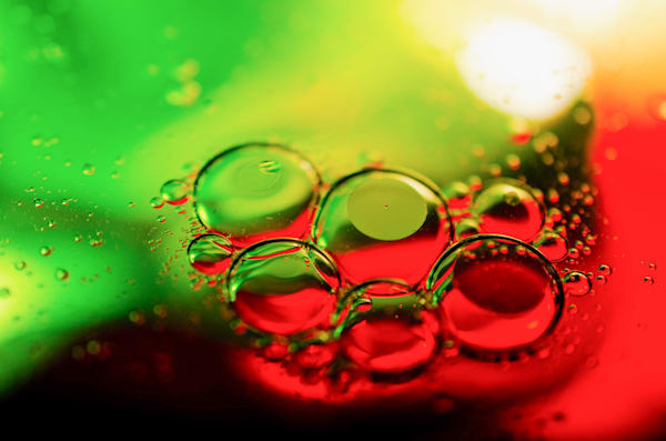 Bubble Art Abstract Photography by Landscape and Nature Photographer Melissa Fague