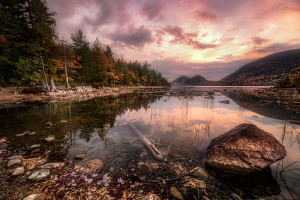 Jordan Pond Sunrise