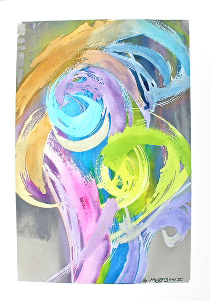 Fearless | Abstract Watercolors | Gordon Meggison IV