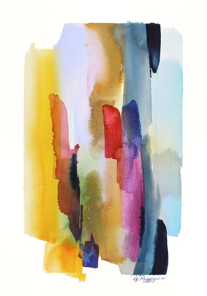Karma | Abstract Watercolors | Gordon Meggison IV