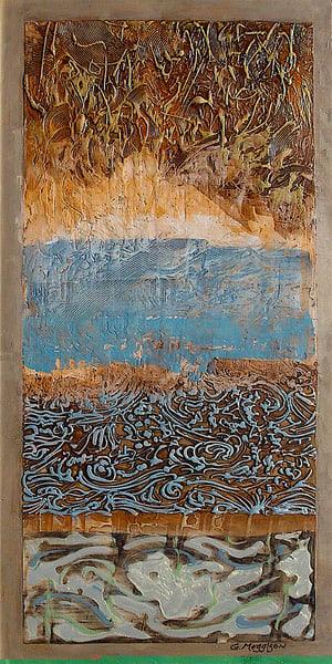 Mercuriana | Abstract Acrylic Mixed Media | Gordon Meggison IV