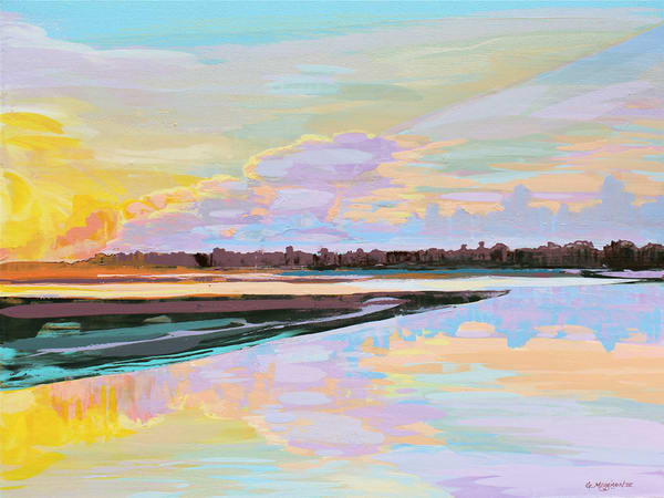 Nassau Sound Morn| Contemporary Landscapes | Gordon Meggison IV