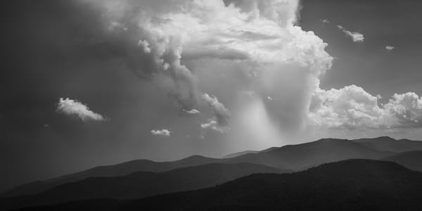 A storm over the Smoky Mountains
