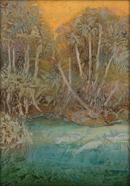 Manatee Springs   Contemporary Landscapes   Gordon Meggison IV