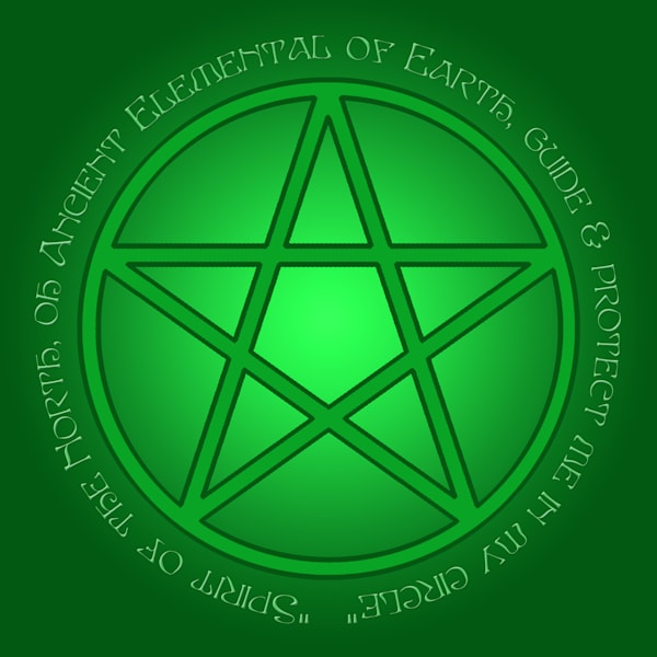 Spirit of Earth Pentacle
