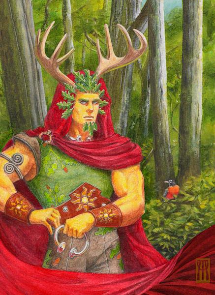 Oak King Portrait