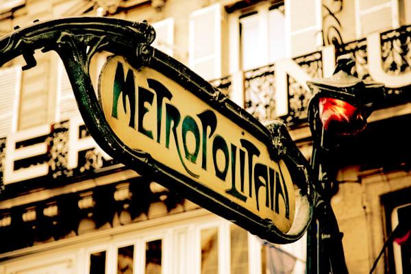 Vista - Metro Art Nouveau II