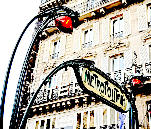 Vista - Metro Art Nouveau I
