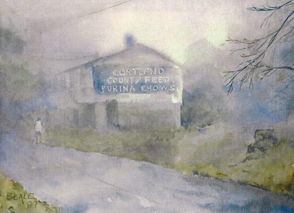 Misty Morning Art | David Beale