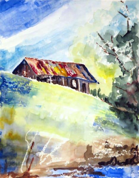 Abandoned Home  #2 Art | David Beale