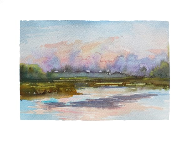 Talbot Calligraphy | Watercolor Landscapes | Gordon Meggison IV